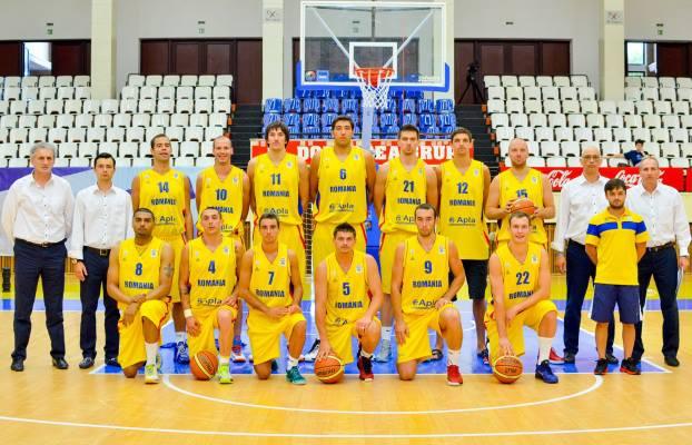 Naţionala de baschet masculin se pregăteşte pentru Eurobasket 2015 într-un turneu amical la Sibiu