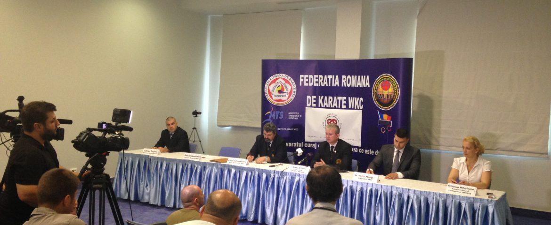 """Karate-ul se unifică după 35 de ani. Liviu Crişan, preşedinte WUKF: """"Sper ca noua organizaţie să ducă sportul nostru la Olimpiadă"""""""