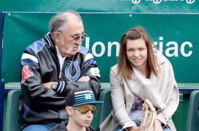 Simona Halep, susţinută de Ion Ţiriac la turneul US Open