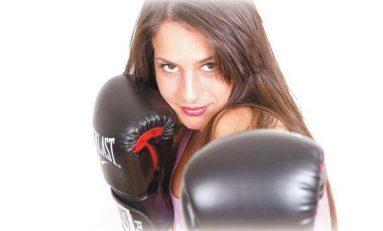 Alina Pascu,  fondatoarea Kempo Kick