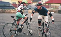 Bike polo, un fenomen care ia amploare