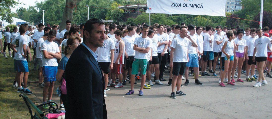 """Mult entuziasm la Crosul Naţional """"Ziua Olimpică"""""""