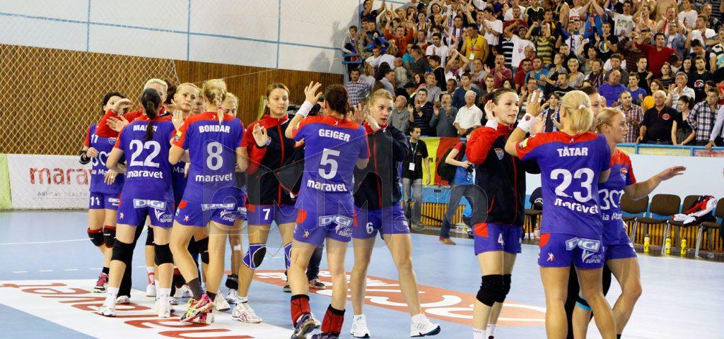 HCM Baia Mare, învingătoare în fața Krim Ljubljana la Champions Trophy