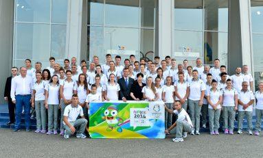 Ambiții ale celor 41 de sportivi înaintea plecării la Jocurile Olimpice de Vară ale Tineretului
