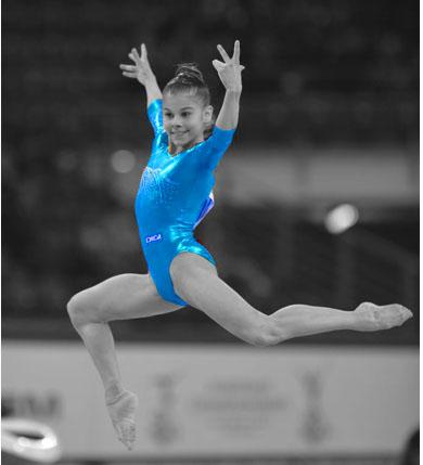 Laura Jurcă, locul 4 la sol la JOT de la Nanjing