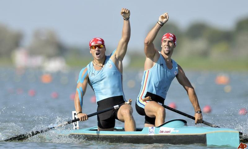 Suntem vicecampioni mondiali la canoe dublu – 500 m
