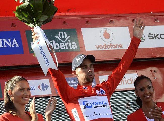 Michael Matthews, noul lider la general în Vuelta după etapa a treia