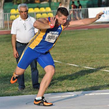 Argint pentru aruncătorul de greutate Rareș Toader, la Jocurile Olimpice ale Tineretului