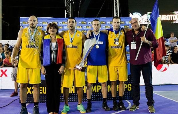 România, prima campioană europeană de baschet 3×3