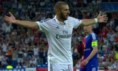 Real Madrid, 1.000 de goluri în cupele europene