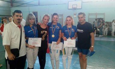 Junioarele de la CS Dinamo sunt noile campioane naționale de spadă