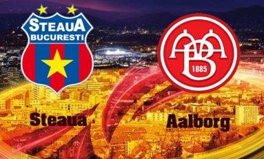 Steaua învinge pe Aalborg cu un scor de tenis, dar...