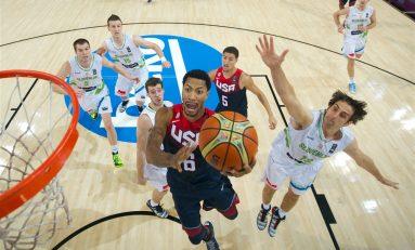 Lituania va întâlni SUA în prima semifinală a Mondialelor de baschet masculin din Spania
