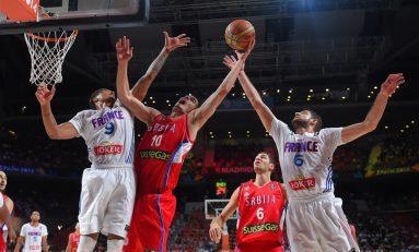 Serbia învinge Franța și va juca marea finală a Mondialelor de baschet împotriva SUA