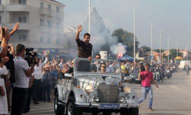 Marin Cilic a fost primit ca un erou în orașul său natal