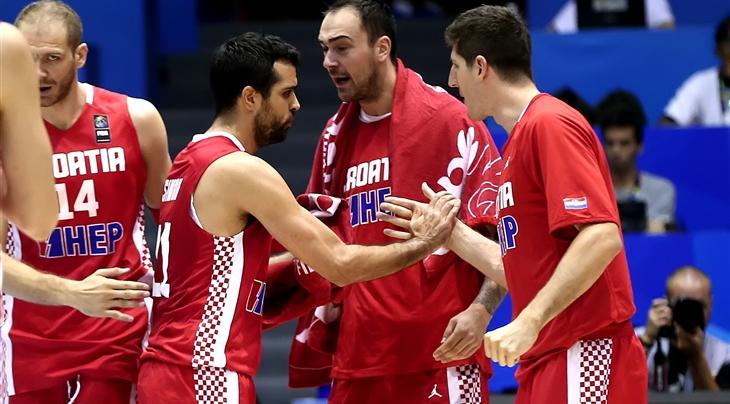 Franța revine și câștigă partida derby cu Serbia, la jumătate de coș, iar Croația învinge Argentina