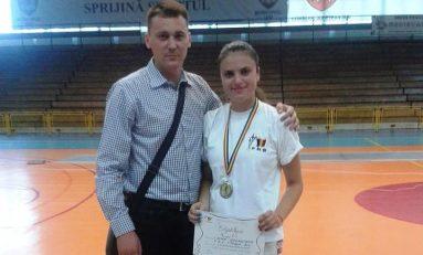 Sabrera Georgiana Dima de la CSA Steaua, un nou titlu de campioană naţională la juniori