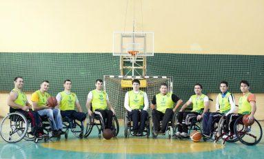 Braşov, gazda Campionatului de baschet în scaun rulant