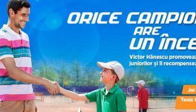 Victor Hănescu susţine tenisul românesc