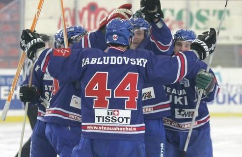 Steaua câștigă primul derby al Naționalelor de hochei pe gheață
