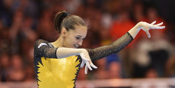 Larisa Iordache a câștigat concursul individual compus de la triunghiularul din Elveția