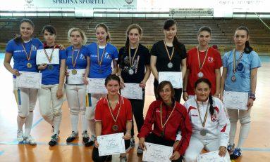 CSA Steaua 1, campioană naţională la sabie la juniori