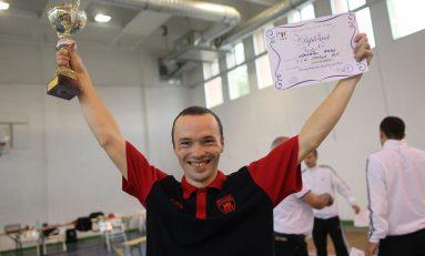 Radu Dărăban și-a păstrat Cupa României la floretă
