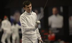 Adrian Pop, câștigătorul Cupei României la spadă