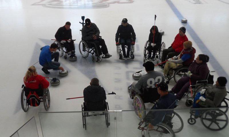 Tabăra de Curling în Fotoliu Rulant selectează echipa națională