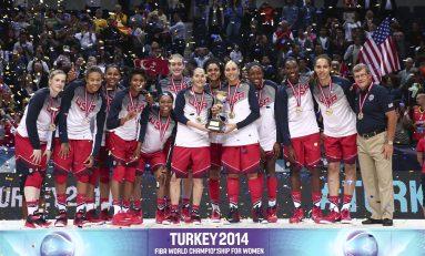 Al nouălea titlu mondial pentru baschetbalistele americane