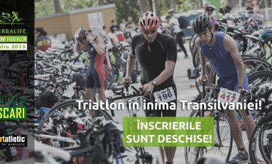 A fost dat startul înscrierilor la concursul Herbalife Braşov Triathlon 2015