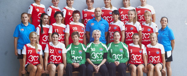 Liga Campionilor. Handbalistele din Baia Mare, dublă victorie cu IK Savehof