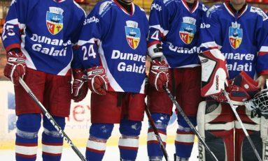 Hocheiștii din București și Galați vor juca pentru titlul la hochei pe gheață