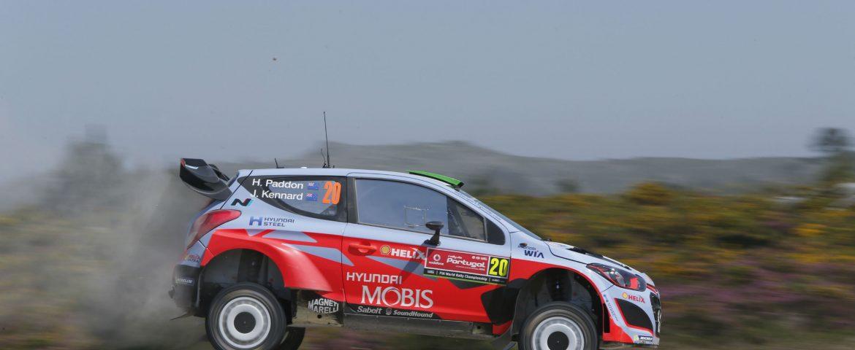 Hayden Paddon a adus al doilea podium consecutiv pentru noua generatie a modelului i20 WRC in Raliul Suediei