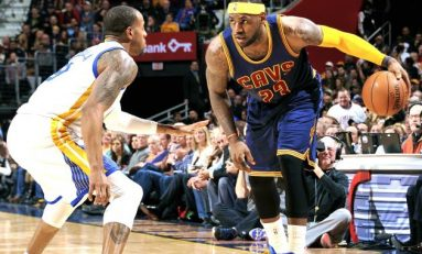 Le Bron James inscrie 45 de puncte si Cavs egaleaza in finala NBA cu Warriors!