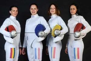 Echipa feminină de spadă a României câștigă al șaselea titlu european