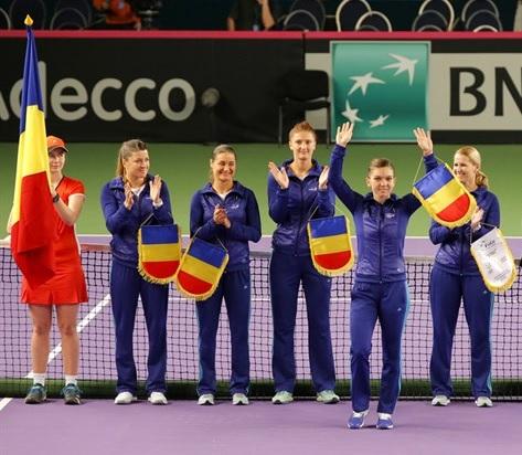 România va întâlni câștigătoarea Fed Cup în primul tur al Grupei Mondiale