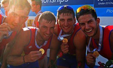 Alte două medalii de aur la Mondialele de canotaj under 23