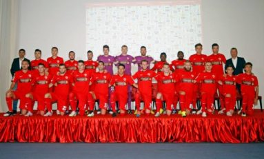 Dinamo și-a prezentat lotul și cele trei rânduri de echipamente pentru noul sezon al Ligii 1
