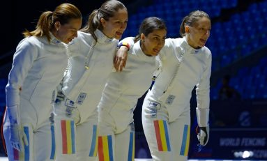 Argint mondial pentru echipa feminină de spadă a României