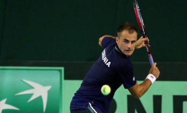 Copil învins de Klizan și România pierde meciul cu Slovacia din Cupa Davis