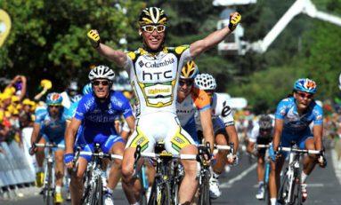 Martin abandonează, Cavendish câștigă etapa a șaptea, iar Froome preia tricoul galben în Marea Buclă