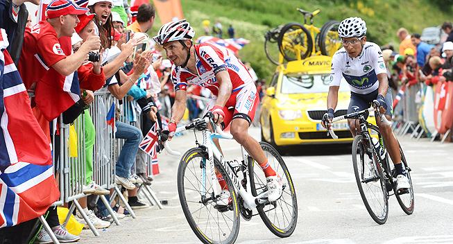 Rodriguez câștigă o etapă neutralizată în Turul Franței, Froome preia tricoul liderului