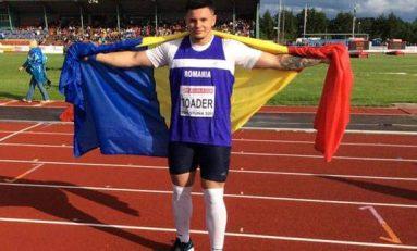 Rareș Toader confirmă și la Europenele de juniori din Suedia, unde a luat argintul la aruncarea greutății