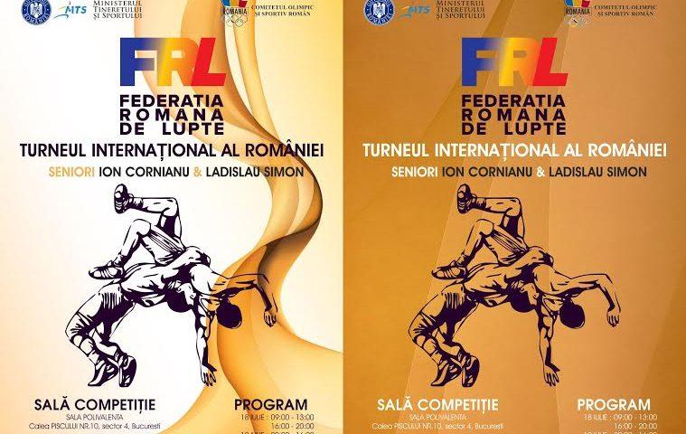 """Luptători din 22 de țări la Turneul internațional de seniori """"Ion Cornianu/Ladislau Simon"""""""