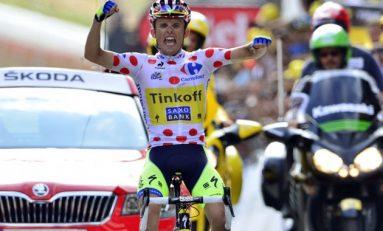 Victorie după o desprindere pe ultimii 50 de kilometri a polonezului Rafal Majka în Turul Franței