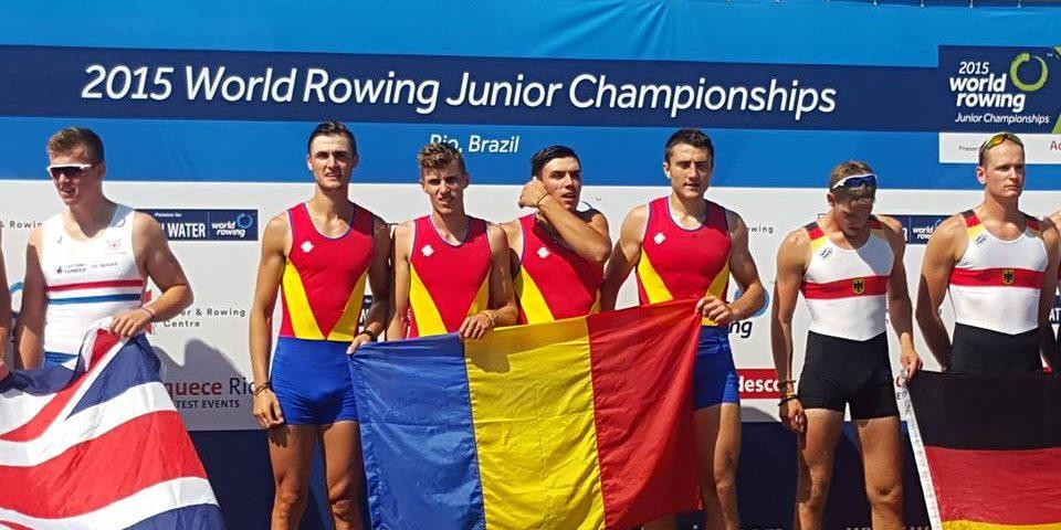 Canotorii juniori au revenit cu trei medalii de la campionatele lumii