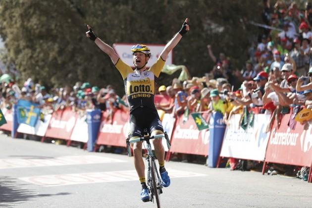 Victorie după evadare a lui Lindeman în a șaptea etapă din Vuelta