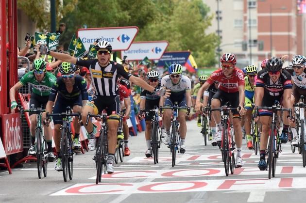 Italianul Sbaragli, al doilea învingător surpriză în Turul Spaniei