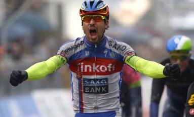 Peter Sagan, la prima victorie de etapă într-un mare tur, după mai bine de doi ani